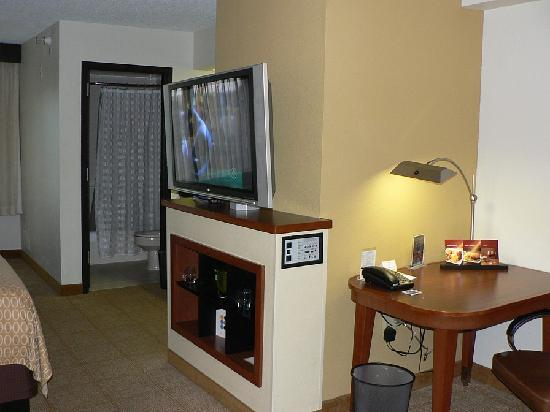 Hyatt Place Colorado Springs: Work Desk & TV