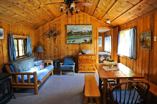 Hunting Cabin Interior Do It Yourself Hunting Cabins: Picture Of Avalanche Ranch