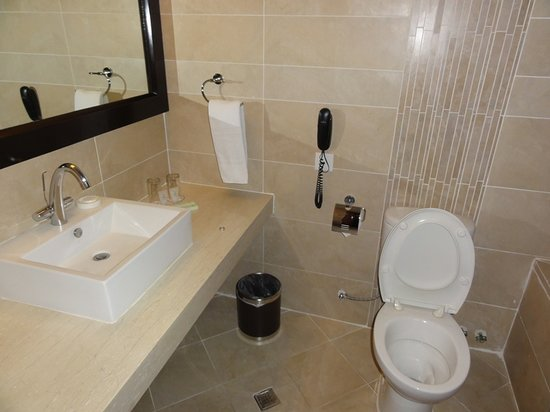 The Avenue Plaza Hotel: bathroom - deluxe rm