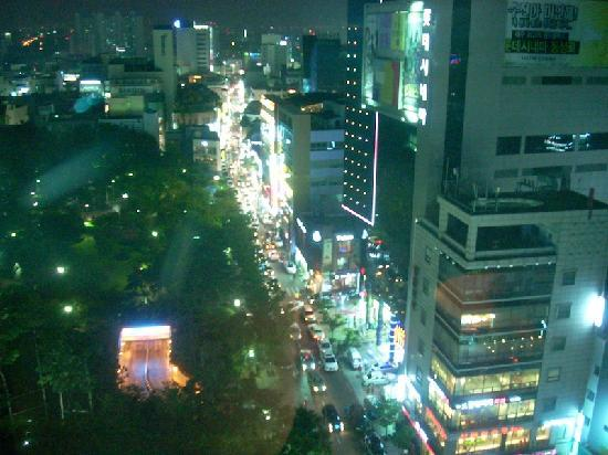 Novotel Ambassador Daegu: View from window