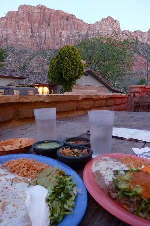 Zion Park Motel: Beautiful scenery