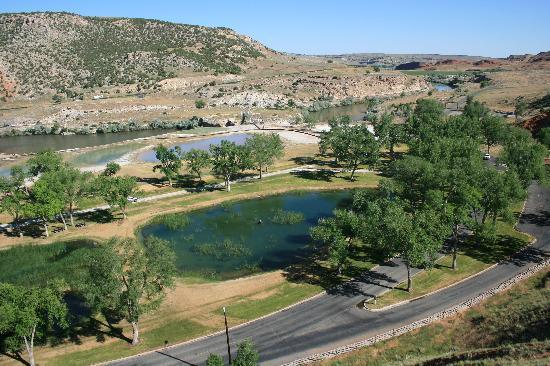 Hot Springs State Park - Thermopolis, WY | Bath House