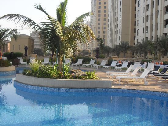 Pool Area Picture Of Movenpick Hotel Jumeirah Beach Dubai Tripadvisor