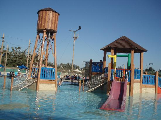 Aliathon Holiday Village: the slides