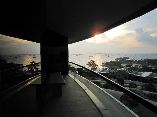 Capella Singapore: Dachterrasse