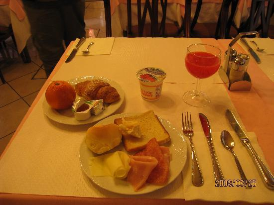 Hotel Malibran: 朝食