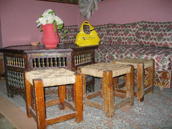 Pension Hotel Dalila : Interior of the Pension Dalila
