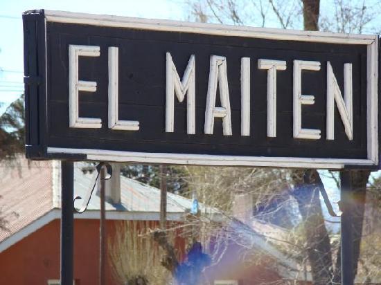 El Maitén, Argentina: Viejo Expreso Patagonico