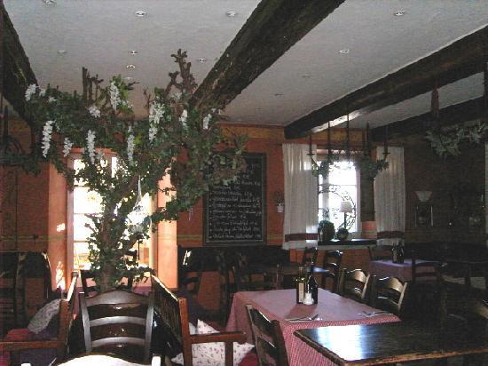 Landhotel Hirsch: Teilansicht Restaurant