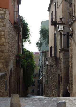 Girona, Spanje: The Call is full of lovely alleyways.