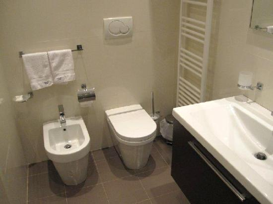 Rome Armony Suites: You might be euro, in which case... well there's a bidet.