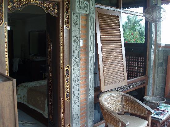 Dewa Bharata Ubud: Vue sur le balcon de la chambre