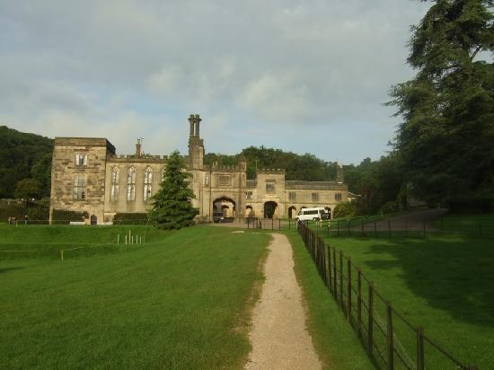 General view of Ilam hall hostel in daylight.