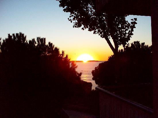Pestana Viking Resort: Sonnenaufgang / Zimmerblick