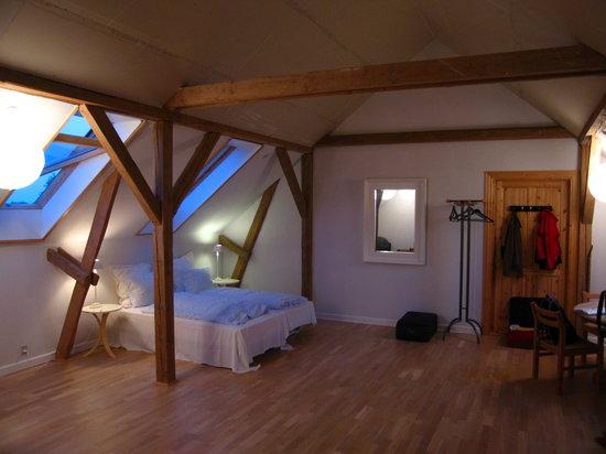 Langeland, Dinamarca: Unser Zimmer im Høloftet