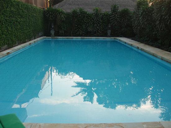 Raja Gardens Hotel : Vue sur la piscine