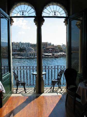 Casa Leone Boutique Hotel: View from breakfast room in morning