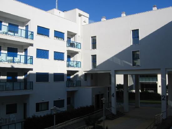 Apartamentos Turísticos Alicante Hills: Das Hotel von außen