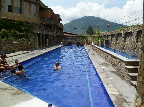 Amatitlan, Guatemala: Thermal pool area