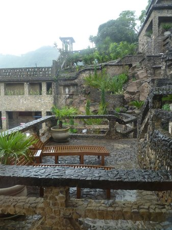 Amatitlan, Guatemala: View from relaxing room