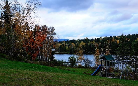 Hunter Cove Cabins on Rangeley Lake: View from the cabin
