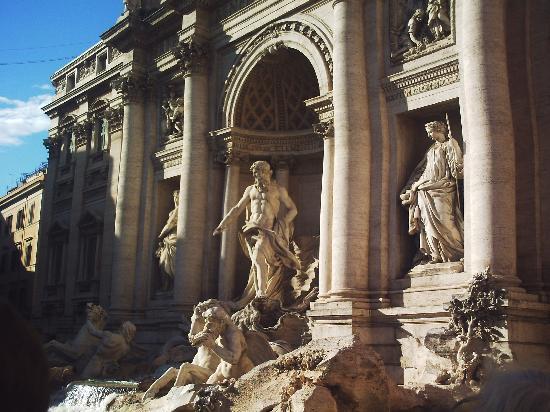 Champagne Palace: La fontaine de Trévi