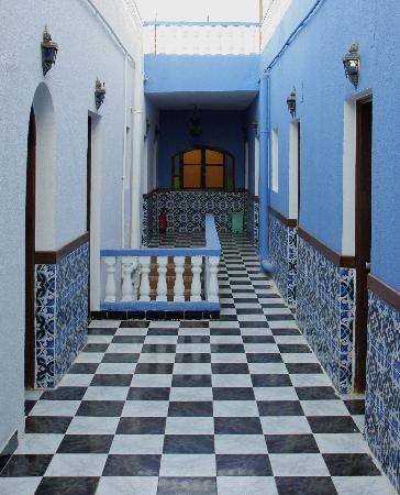 Blue Beach Club: Staircase in main building