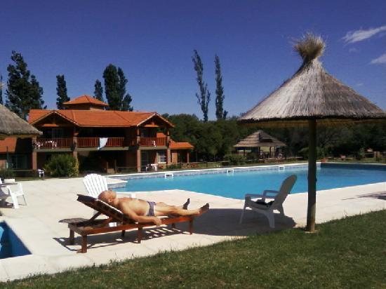 San Luis, Аргентина: disfrutar de la piscina