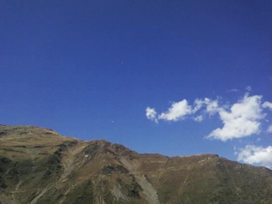 San Luis, Argentinië: las sierras,estamos cerquita de llegar