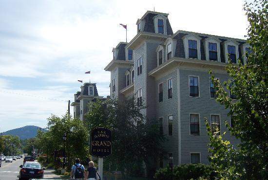 Bar Harbor Grand Hotel : Hotel building