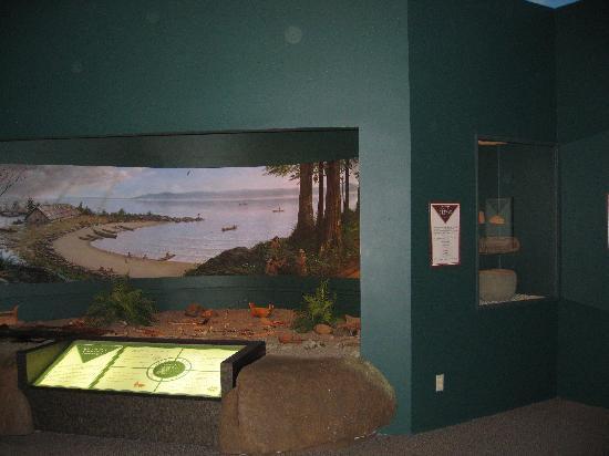 Astoria Heritage Museum - native Indian room