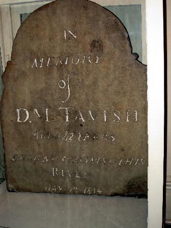 Astoria Heritage Museum - Oregon's oldest headstone 1814