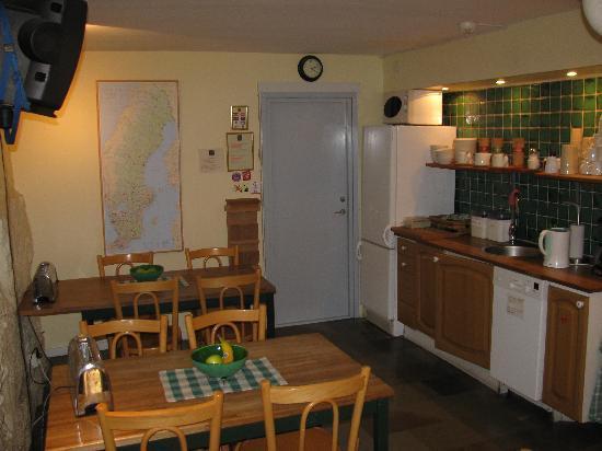 Hotel Tre Sma Rum : kitchen