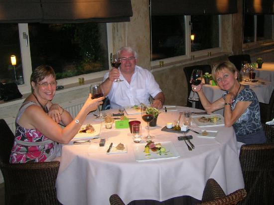 Barvaux, Belgium: restaurant 10/06/10