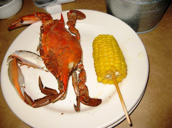 The Crab House: endless food
