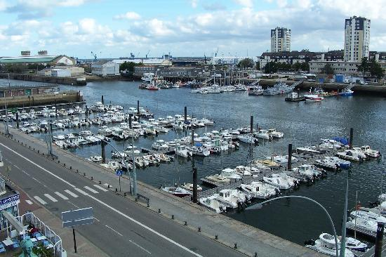 Hotel Ambassadeur : Cherbourg Harbor  - Room with a view!