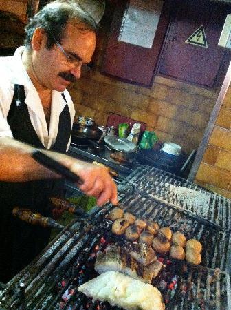 Restaurante O Palheirinho: Bacalhau na Brasa