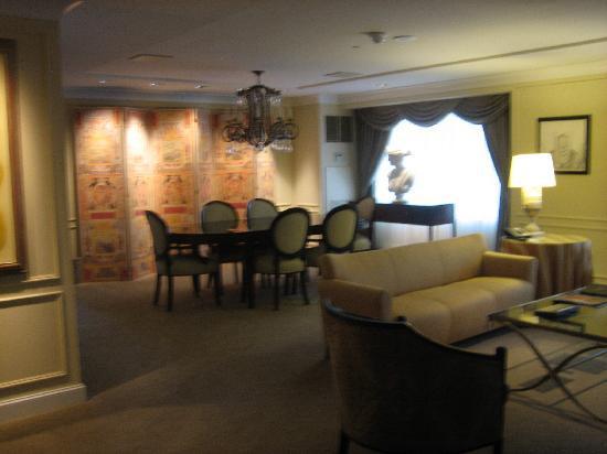 Caesars Atlantic City: SUITE elegantly decorated