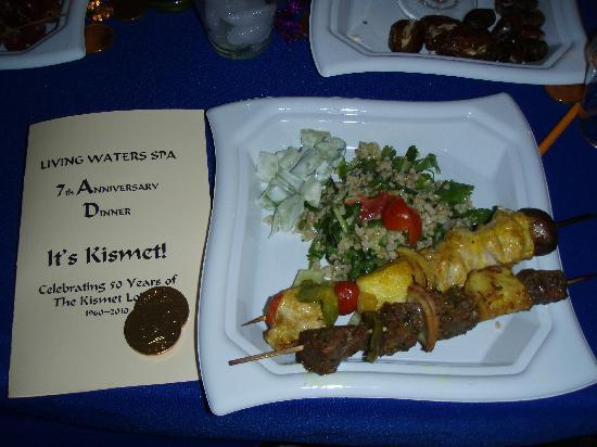 Living Waters Spa: 7th B-day of the Spa- celebration dinner