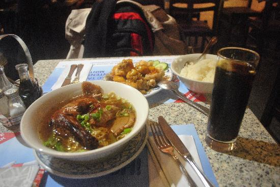 Nice Food Service Picture Of Chao Chow City Brussels Tripadvisor
