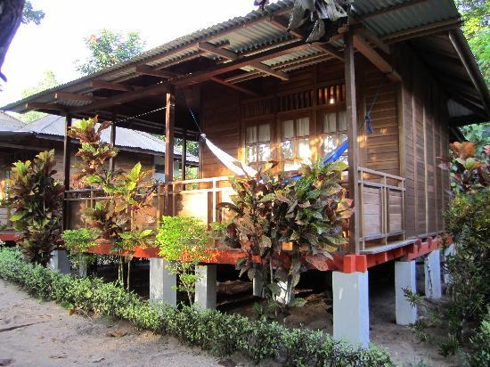 Two Fish Divers Bunaken: View of cottage
