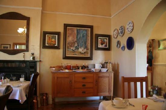 Montagu Vines Guesthouse: The Breakfast Corner