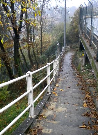 Vista Lago: Walking trials in Brunate, Lake Como