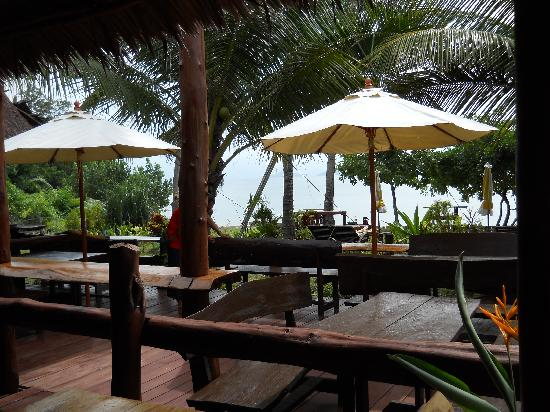 Tenta Nakara: Outdoor Dining area