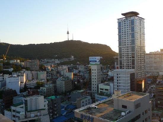 Hyundai Residence : View from rooftop of Namson Tower