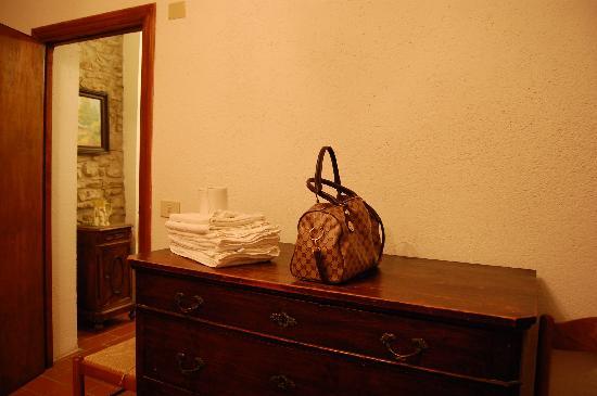 Fiuminata, Italia: Interno della nostra stanza