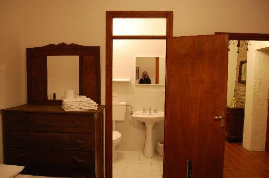 Agriturismo La Castagna: il bagno della stanza dei nostri amici