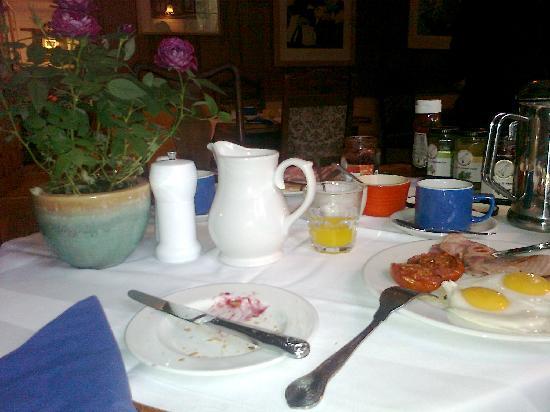 Fingals Boutique B&B: Breakfast at Fingals