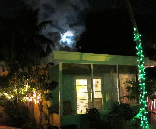 Alexander Palms Court: Moon over Number 1