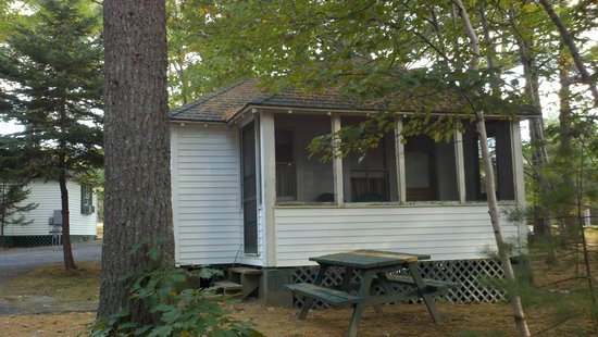 Hinckley's Dreamwood Cabins : A view of the cabin